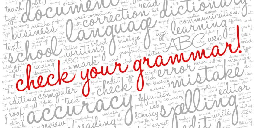 Common English grammar mistakes