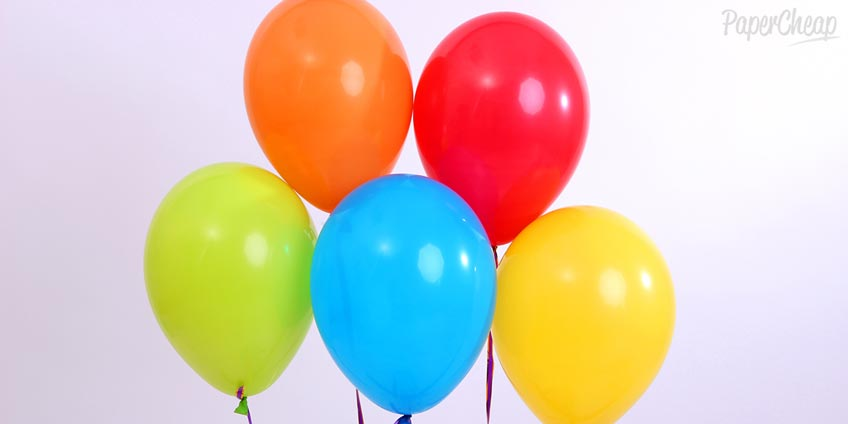 Five Balloons
