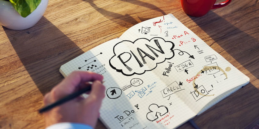 How to write a plan fast