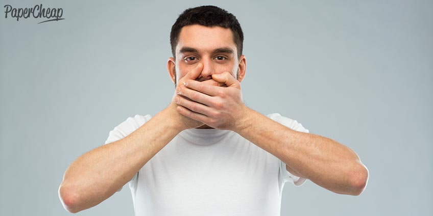 Man with a Closed Mouth