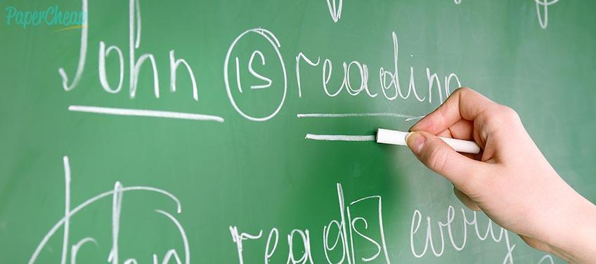 Student Blackboard Grammar