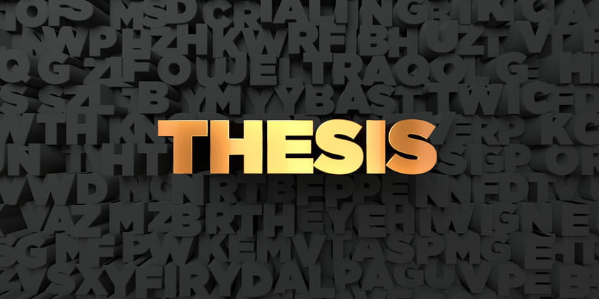 Thesis definition